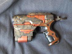 Steampunk Gun, Nerf, Guns, Weapons Guns, Pistols, Revolvers, Sniper Rifles, Weapons, Firearms