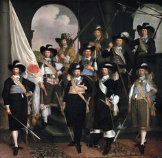 The company of captain Claes Willemsz Jager