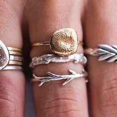 actually all i want....sticks and stones ring set