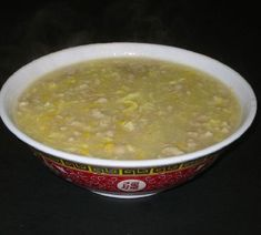 Looks bad but tastes really nice. As good as you get from the Chinese take away. Chicken & Sweetcorn Soup