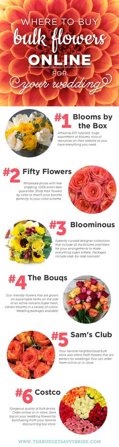New post on The Budget Savvy Bride: Where to Buy Bulk Flowers Online for Your Wedding