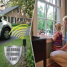 Security Home System Wireless Outdoor Vehicle Driveway Car Alarm Electromagnetic #SecurityHomeSystem