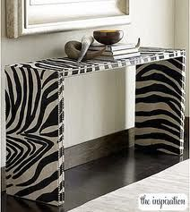 diy shelf / bench / paint cabinet / end table / zebra home decor