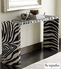 diy shelf / bench / paint cabinet / end table / zebra home decor