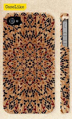 #Mandala #iPhone 5 #Case #Tribal Mandala Pattern On #Wood by #caselike, $22.00