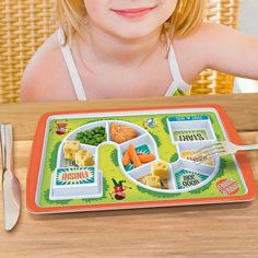 The Start to Finish Kids Plate ($22) provides encouragement along the way. And that's something we can easily get behind!