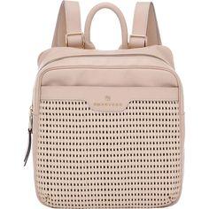 Mochila Couro Smartbag Tressê Natural - 77075 - Smartbag