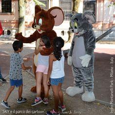 SKY and the cartoon's park Cartoon Park, Joseph Barbera, William Hanna, Hanna Barbera, Tom And Jerry, Milano, Toms, Tom Shoes
