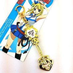 Fairy+Tail+Lucy+Celestial+Spirit+Gate+Virgo+Golden+Mental+Key+–+GBP+£+3.49