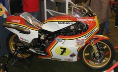 1976 Suzuki RG500 Gamma Racing Motorcycle - Barry Sheene