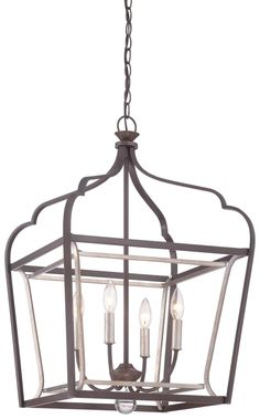 Minka Lavery Astrapia 4 Light Foyer Pendant 4344-593