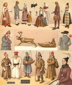 Traditional Dress: 19th Century Scandinavia | History of Fashion ...