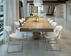 """The+Astoria+Dining+Table+is+the+ideal+solution+to+all+of+your+home's+dining+needs!+With+it's+easy-to-use+butterfly+leaf,+the+Astoria+Dining+Table+extends+from+71""""+all+the+way+to+94"""",+comfortably+accommodating+up+to+ten+people.+When+closed,+the+butterfly+leaf+folds+neatly+inside+the+table.+The+table+top+is+guided+by+a+metal+track,+making+it+quick+and+simple+to+open,+even+for+just+one+person. Available+in+four+beautiful+finishes:+high-gloss+white,+wenge,+walnut+and+gray+oak.    &nbs..."""