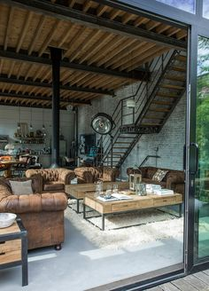 Renovated Railroad Depot | interior decoration | Pinterest | Brick ...