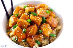 orangechicken, chicken recipes, oven, food, skinni orang, oranges, orang chicken, orange chicken, recipe chicken
