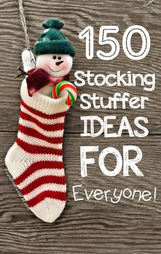 Christmas - stocking stuffer ideas - some of these are great, some are insane, like a digital camera and Kindle. Who puts those in a stocking?