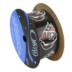 "Tampa Bay Buccaneers ribbon 1 5/16"" width- NFL RIBBON"