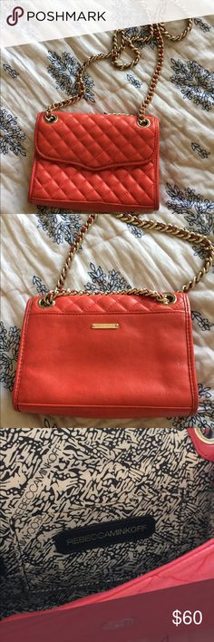 MINI QUILTED AFFAIR REBECCA MINKOFF Small red purse! So cute for the holidays *can ship day of bought to arrive in time for holidays* Rebecca Minkoff Bags Mini Bags