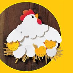 Bird Crafts, Easter Crafts, Diy And Crafts, Easter Activities, Preschool Activities, Dentist Art, Spring Crafts For Kids, Diy Paper, Happy Easter