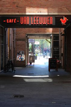 Cafe Van Leeuwen Rotterdam - The Netherlands by André Vondran iPhone Street Photography