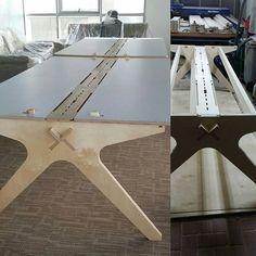#opendesk #lean desk #open source # fab lab #maker #office #office furniture #workstations Plus sur instagam : https://www.instagram.com/p/BHEQ6FygDHm/