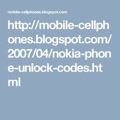 How to unlock nokia mobile from sim unlock codes for Vodafone t-mobile at&t cingular and fido. How to check whether mobile is locked or unlocked and network unlock codes for different nokia cellphone models. Nokia unlock, nokia sim unlock, nokia network unlock, nokia mobile unlock, nokia unlock codes,