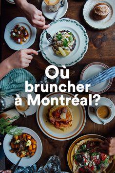 Découvrez toutes les bonnes adresses montréalaises pour des brunchs savoureux. Plan Montreal, Resto Montreal, Montreal Food, Restaurant Montreal, Brunch, Canada Day, Bons Plans, Canada Travel, Restaurants