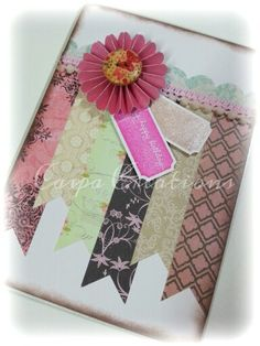 Banners ... stamps by Stampin Up ♥
