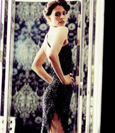 """Irene Adler (gif). Lara Pulver in Sherlock. I loved Kate's comment """"work's for me."""" ;p"""