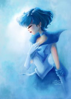 Sailor Mercury by gabrielleandhita.
