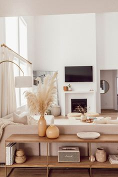 Home Interior Modern Living Room Makeover!Home Interior Modern Living Room Makeover! Boho Living Room, Living Room Interior, Home And Living, Living Room Lamps, Earthy Living Room, Living Room Bench, Living Room With Mirror, Storage Ideas Living Room, Living Room And Bedroom In One