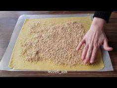 """BU MUHTEŞEM TATLIYI DAHA ÖNCE HİÇ GÖRMEMİŞ OLABİLİRSİNİZ..ŞEKLİ KUSURSUZ """"CEVİZLİ RULO TATLISI"""" - YouTube Plastic Cutting Board, Food And Drink, Make It Yourself, Desserts, Recipes, Youtube, Rare Animals, Silhouette, Pretty"""