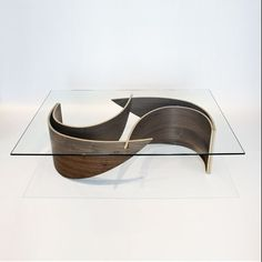 Elegant Coffee Table with Wave-shaped Base – Wave Coffee Table - The Great Inspiration for Your Building Design - Home, Building, Furniture and Interior Design Ideas