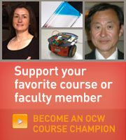 Find Courses by Topic | MIT OpenCourseWare | Free Online Course Materials