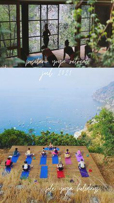 Yoga Holidays, Yoga Retreat, Positano, Amalfi Coast, Wellness, Camping, Italy, Studio, Live