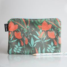Tropical Gardens Handmade Pencil Case - Papio Press - 1