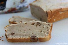2 Ingredient Pecan Ice Cream Bread