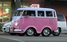 Short Pink Volkswagen