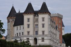 Façade occidentale, château de Pau, Béarn, Pyrénées Atlantiques, Aquitaine, France.