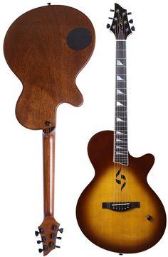 Jon Case Guitars J2 flat top --- https://www.pinterest.com/lardyfatboy/