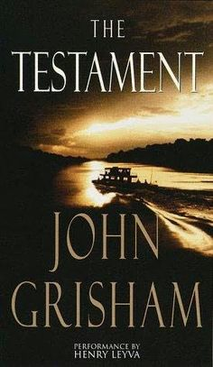 I never thought I would say this, but I really liked this book by John Grisham.  I always thought of Grisham in a negative light, what with all the fanfare about him and how quickly he can produce a book.  I figured his books would have a simple feel too them, but they don't.  The Testament is beautifully written, with an incredibly redemptive story.  And, in typical Grisham style, there are many twists and turns.