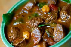 Great Maroccan lamb stew from The Kitchy Kitchen
