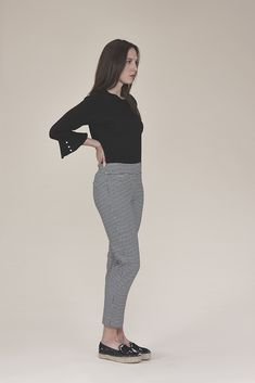 Gingham pants 135.00$