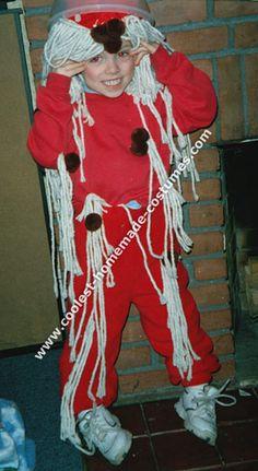 Spaghetti Homemade Costume