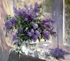 alexander yan artist | Alexander Yan. Lilac box. | Art - Flowers! | Pinterest