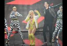 """Britney Spears Says After VMAs Performance With G-Eazy, Sons Find Her """"Cool"""""""