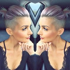 11 super cool short hairstyles with sidecut Undercut Long Hair cool Hairstyles Short sidecut Super Shaved Undercut, Short Hair Undercut, Pixie With Undercut Shaved Sides, Long Hair Shaved Sides, Undercut Bob Haircut, Shaved Pixie, Half Shaved Hair, Undercut Hairstyles Women, Cool Short Hairstyles