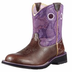 Ariat® Fatbaby Starstruck Ladies Pull On Boot LOVE THESE with the stars on the toes!!