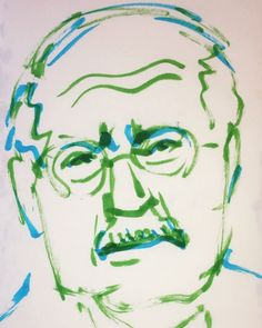 いいね!8件、コメント1件 ― @1mindrawのInstagramアカウント: 「#1mindraw #carlgustavjung #カールグスタフユング #分析心理学 #18750726 #birthday #誕生日 #portrait #筆ペン画」