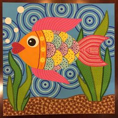 Art Painting Gallery, Madhubani Painting, Rock Painting Designs, Folk Art Fish, Fish Art, Madhubani Art, Indian Art Paintings, Simple Acrylic Paintings, India Art